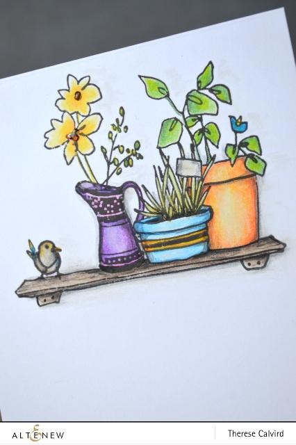 Home Grown - Detail - Altenew blog